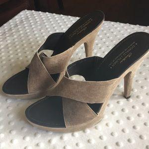 Donald J Plinar 10 shoes Heels Metallic Gypsy
